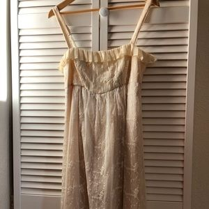 Real silk dress by Left of Center